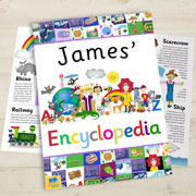 My Personalised Illustrated Encyclopaedia A4