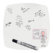 Personalised Pink Teachers Whiteboard Teacher Message Plate