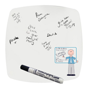 Personalised Blue Teachers Whiteboard Teacher Message Plate