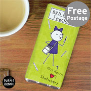 Purple Ronnie Chocolate Bar Female Teacher - Free Delivery