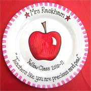 Personalised Teachers Gift Plate