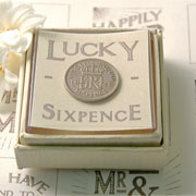 Boxed Lucky Sixpence by East of India