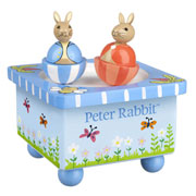 Peter Rabbit Wooden Music Box