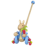 Peter Rabbit Wooden Push Along Toy