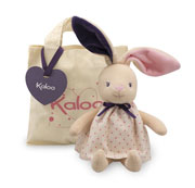 Petite Rose Rabbit Doll & Tote Bag by Kaloo