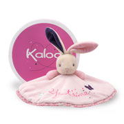 Kaloo Petite Rose Rabbit Round Doudou Comforter in a Box
