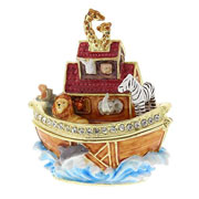Noahs Ark Trinket Box by Juliana