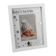 Babys 1st Christmas Frame by Juliana