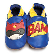 Superhero Shoes by Inch Blue