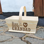 Personalised The Head Gardener Trug