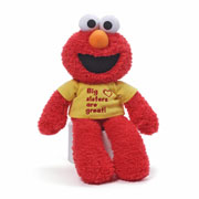 'Big sisters are great' Elmo by Gund