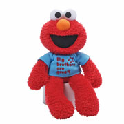 'Big brothers are great' Elmo by Gund