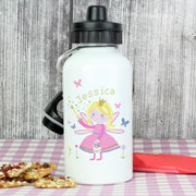 Garden Fairy Personalised Drinks Water Bottle