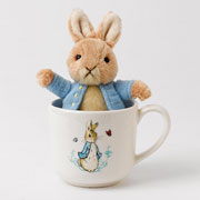 Peter Rabbit Mug & Toy Gift Set