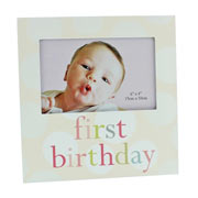 First Birthday Pink Photo Frame