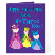 Personalised Three Kings Card