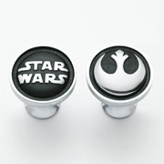 Pewter Rebel Alliance Cufflinks by Royal Selangor