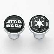 Stars Wars Pewter Cufflinks Galactic Empire