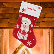 Personalised Teddy Stocking