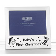 Babys First Christmas Photo Frame