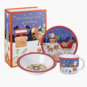 'Twas The Night Before Christmas Melamine Breakfast Set