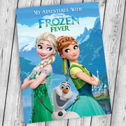 Personalised Disney Frozen Fever Adventure Book