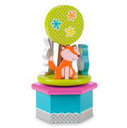 Woodland Animals Music Box