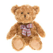 Milli Moo Traditional Brown Teddy Bear