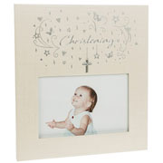 Star Cluster Christening Photo Frame