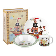 Pirates Melamine Breakfast Set