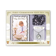 Boys First Holy Communion Gift Set
