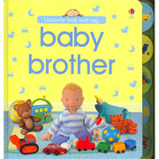 Baby Brother Look and Say Board Book