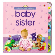 Baby Sister – Look and Say Board Book