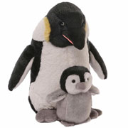 Penguin and Baby by Gund