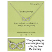 New Beginnings Infinity Necklace