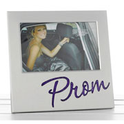 Prom Glitter Photo Frame - Pink or Purple