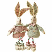 My first easter gifts and toys for a baby childrens easter presents large floral pastel rabbit negle Image collections