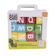 The Very Hungry Caterpillar Wooden Alphabet Blocks