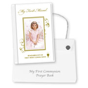 First Holy Communion Missal in a Case