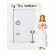 My First Communion Girls Photo Frame