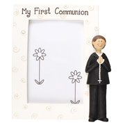 My First Communion Boy's Photo Frame
