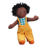 Lanka Kade Fair Trade Black Skin Boy Dolly