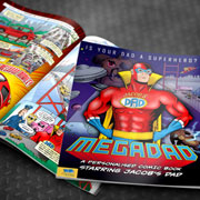 Personalised Megadad Comic Book