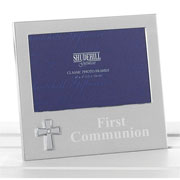 First Communion Cross Photo Frame