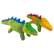 Cushy the Fair Trade Crocodile from Barefoot Toys