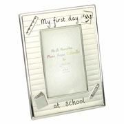 My First Day at School 4 x 6 Inch Photo Frame
