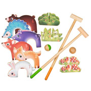 Janod Forest Animals Croquet Set