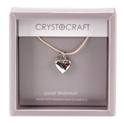 Our Special Bridesmaid Necklace With Heart Charm