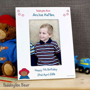 Paddington Bear 6x4 Inch Personalised Photo Frame