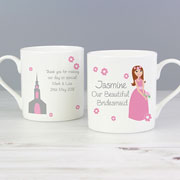 Personalised Ceramic Our Beautiful Bridesmaid Mug